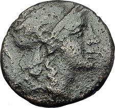 PERGAMON in Mysia Genuine  133BC Authentic Ancient Greek Coin ATHENA NIKE i61468