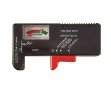 Toolzone Universal Battery Tester for AA AAA C D 9v and Button Cells