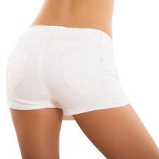 Mujer Pantalones Cortos Shorts Minifalda Rasgados Pitillo Encaje Hot Nuevo H390