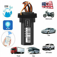 Car Vehicle GPS Tracker Real Time GSM GPRS Locator Tracking Device Waterproof di
