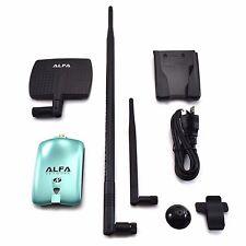 Alfa AWUS036NH Wireless N Adapter 2000mW + 7dBi Antenna + 9dBi  Antenna +U-Mount