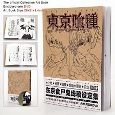 COLLECTION ARTBOOK TOKYO GHOUL ART BOOK ANIME MANGA KEN KANEKI POSTER DVD #4