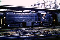 Original Slide Washington Terminal Railroad Switcher #51 D.C 1960