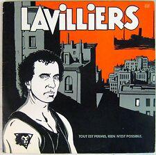 Tardi 33 tours Bernard Lavilliers 1984