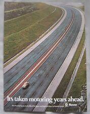1972 Rover Original advert No.2