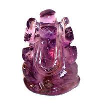 Amethyst Crystal Ganesh 40mm - Spiritual Advancement
