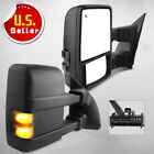 Pair for 2008-2016 Ford F250 F350 SuperDuty Power Heated Tow Mirrors Turn Signal  for sale
