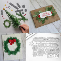 Carbon Steel Cutting Dies DIY Christmas Tree Mould Card Embossing Craft Decor