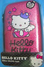 Hello Kitty Glitter Pink Purple Black NDS/DSi Zipper Shell Case Sanrio