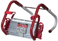 Fire Escape Ladder 25 Ft 3-Story Emergency Safety Anti Slip 1000 lb Load Cap