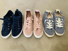**lot Of 3** Sneaker Shoes Women Roxy Bayshore, H&M.. Lace Up Casual Size 7.5-8