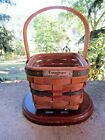 Vintage INAUGURAL Series Longaberger Collection 1993 Basket- Signed & Dated