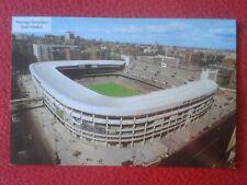 POSTAL ESTADIO CAMPO DE FÚTBOL SANTIAGO BERNABEU REAL MADRID FOOTBALL STADIUM...