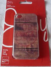 Iphone 4/4S Estuche Protector de presión de Coca-cola
