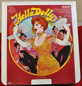 RCA VideoDisc CED - Hello Dolly, Barbara Streisand (2 Discs) - 20th, c.1981
