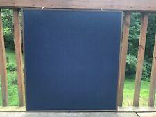 Heavy Duty Blue Felt Notice Board BULLETIN BOARD Framed Push Pin Or Velcro