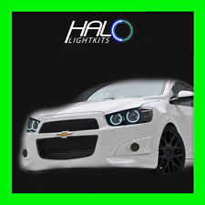 2012-2014 CHEVY SONIC WHITE PLASMA HEADLIGHT HALO ANGEL EYES RINGS by ORACLE