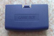 NEU Indigo Lila Batteriedeckel Game Boy Advance - Batteriefachdeckel GBA Purple