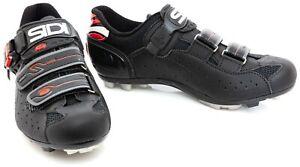 Sidi Dominator 5 Mountain Bike Shoes EU 41 US Women 8.75 Black 2 Bolt Gravel MTB