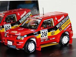 WOW EXTREMELY RARE Mitsubishi Pajero Gen3 Evo #256 Dakar 2000 1:43 Vitesse-Spark