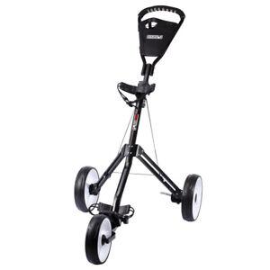JEF World of Golf Navigator 3-Wheel Fold-able Push Cart,  Black