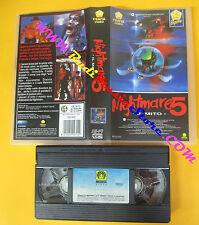 VHS film NIGHTMARE 5 il mito Stephen Hopkins PENTA VIDEO 1007902 (F133) no dvd
