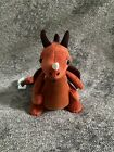 JELLYCAT Paprika Dragon Red Orange Soft Toy New with Tags