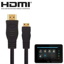 1.8m Gold Plated HDMI Mini to HDMI For Kurio 7, 10 Kids Android Tablet PC To TV
