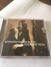 THE BEST OF SUZANNE VEGA - RETROSPECTIVE - 2 X GREATEST HITS CD SET - LUKA +