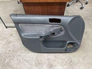 96-00 HONDA CIVIC FRONT LEFT DRIVER DOOR PANEL GREY OE EXCELLENT CONDITION!