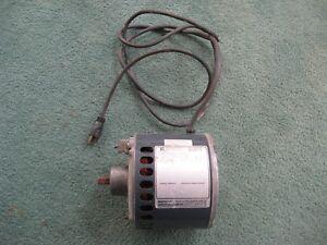 Motor AC .33HP 115VAC 60Hz 1725-RPM Emerson S63NXGFS-6040 - USED