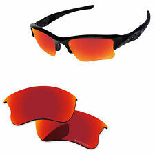 PapaViva PRO Polarized Replacement Lens For-Oakley Flak Jacket XLJ -Fire Red