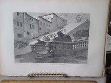 Vintage Print,SCALA COELI,Rome,Francis Wey,1872