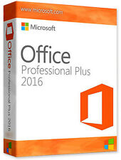 Microsoft Office 2016 Professional plus for Windows 1 PC New Full Version