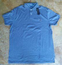 NWT Polo by Ralph Lauren 100% cotton short sleeve polo shirt, blue, L