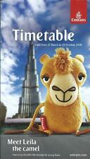 Airline Timetable - Emirates - 27/03/16