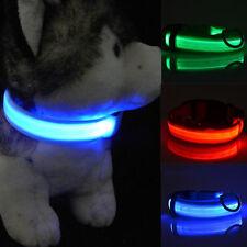 LED Lumineux Clignotant Réglable Chien de compagnie Chat Corde Collier