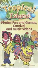 TERRY JERVIS TROPICAL ISLAND PIRATES FUN AND GAMES DVD CHILDRENS TV