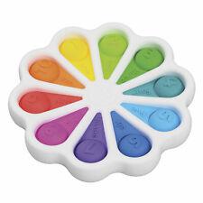 Dimpl Digits Silikon Greifling Tastspielzeug (50154) von FAT BRAIN