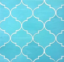 Arabesque Moroccan Turquoise Glass Tile Mosaic Backsplash and Wall Bath Kitchen