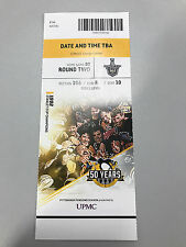 RARE Pittsburgh Penguins Stanley Cup Champions Ticket Stub v Washington Capitals