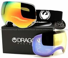 NEW Dragon X2 Goggles-Inverse-Black White Red-Red+Yellow Blue-SAME DAY SHIPPING!