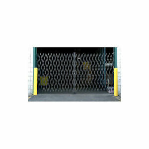 10'W Double Folding Security Gate, 5'H