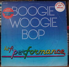 HI-FI PERFORMANCE/YVES OUAZANA BOOGIE WOOGIE BOP MAXI 45t FRENCH LP  PATHE 1978