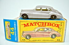 "Matchbox RW 44b Rolls Royce Phantom marrón metalizado en ""e2"" Box"