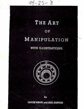 OOP The Art of Manipulation by Clyde Lentz and Bill Kenton SAFE CRACKING Rare