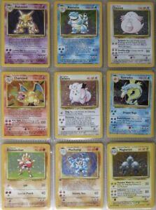 Pokemon Lot of 30 cards- EX/GX/VMax/Full Art/Secret/Vintage GUARANTEED + 3 Holos