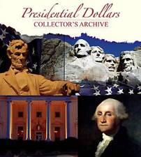BEST!!!! WHITMAN Presidential Dollar Folder Collector's Archive #2218