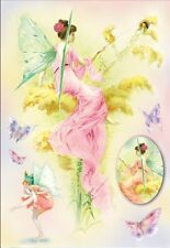 Papier de riz DFS148 Elfe Papillon Rice Decoupage Paper Fairy Butterfly Serviett