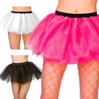 Budget 3 layer Tutu Petticoat Underskirt Ballerina Womens Fancy Dress Accessory